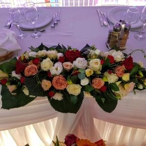Aranjament de prezidiu mixt de trandafiri