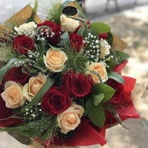Buchet 19 trandafiri