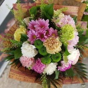 Buchet de flori pentru mătușa
