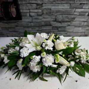 "Aranjament funerar ""Pura iubire"""